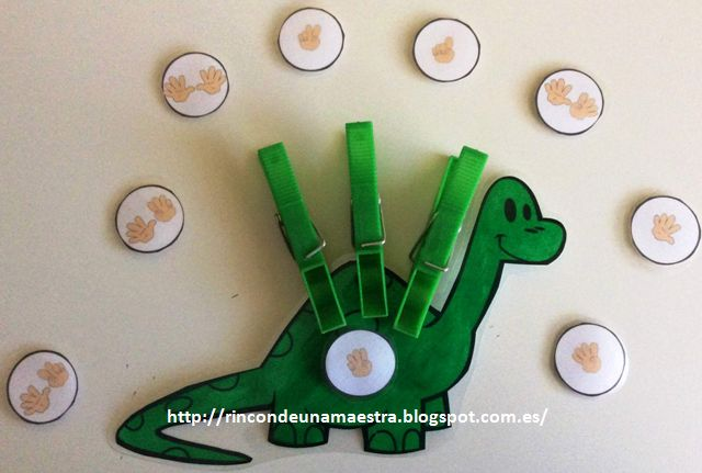 Rincón de una maestra: Los dinosaurios
