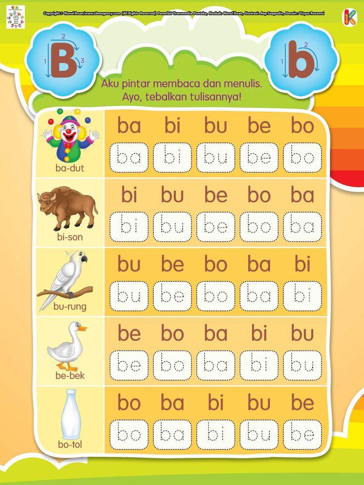 Pintar Membaca dan Menulis Huruf B