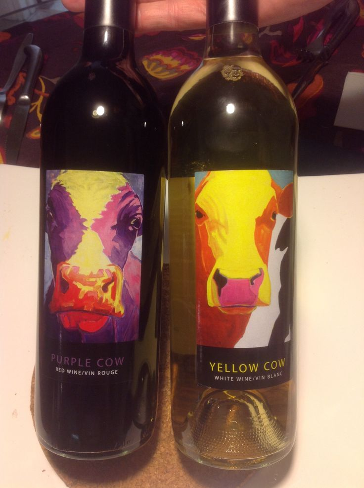 Dry and Smooth one of the best #wines in #canada #purplecow #yellowcow