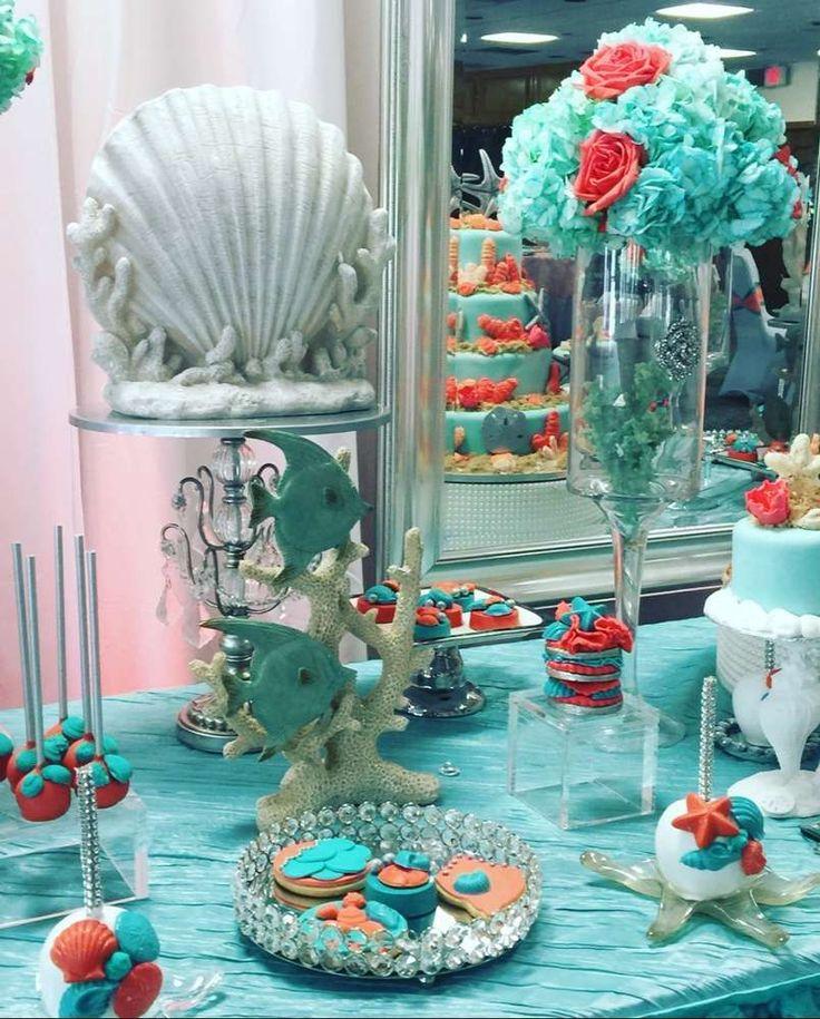 Ocean Centerpiece Ideas : Best images about ocean ideas wedding quinceañera