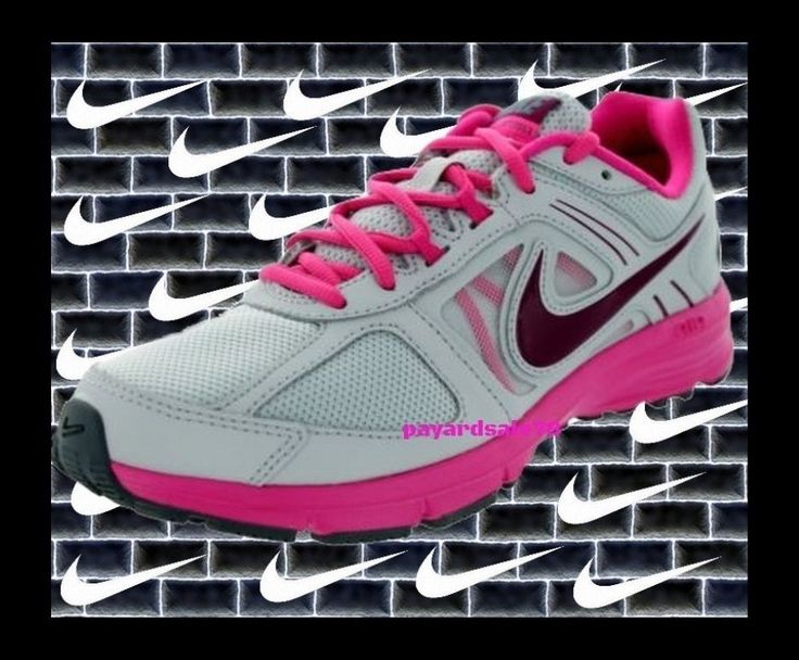 WOMEN'S NIKE SNEAKERS SIZE 7.5 AIR RELENTLESS 3 GRAY PINK RUNNING SHOES WALK JOG #Nike #RunningCrossTraining