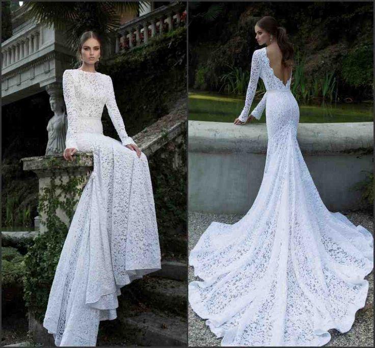 15 best open back wedding dresses images on Pinterest | Short ...