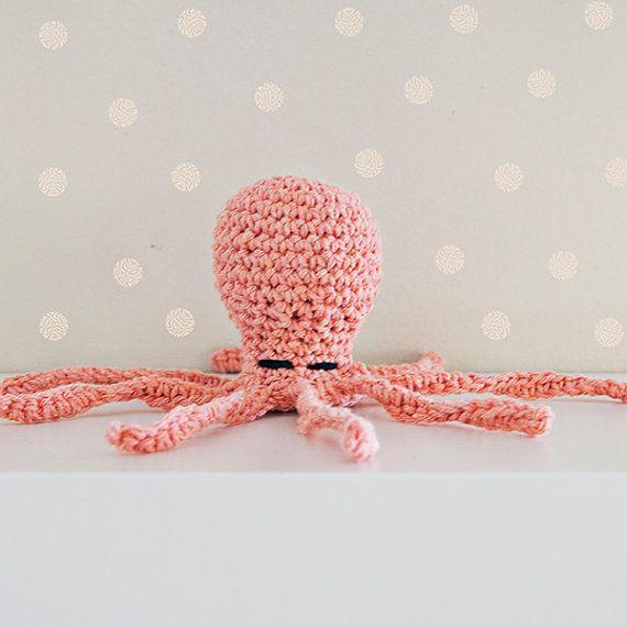 Baby Rattle crochet baby rattle baby gift baby toy
