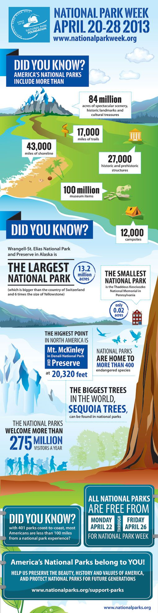 National Park Week: Free Admission 4/22-4/26