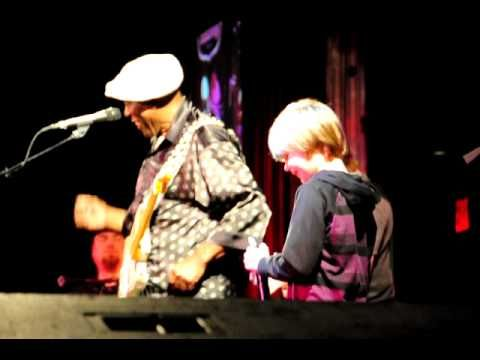 Buddy Guy, Quinn Sullivan and Joshua King @ BB King Club. The young kids keeping the Blues alive!