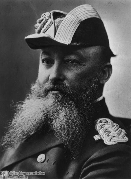 Admiral Alfred von Tirpitz – Lodge Zur Aufrichtigen Herzen, Frankfurt