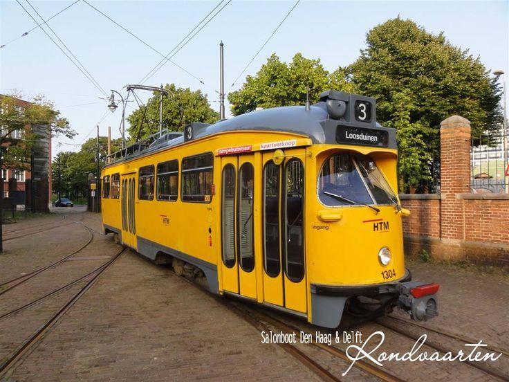 """Aanstaande zondag is het weer zover: """"Reizen als Toen"""": Ontdek Den Haag en Voorburg per historische tram en salonboot.  www.salonbootdenhaag.nl"""