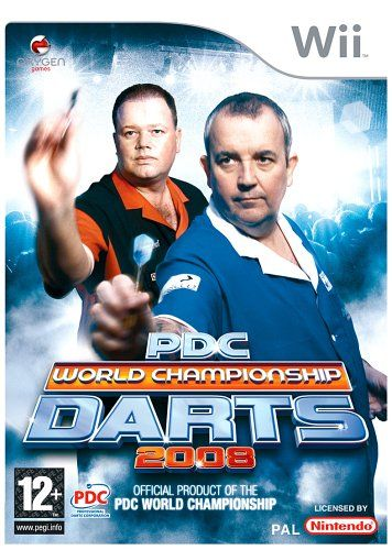 PDC World Championship Darts 2008 (Wii) - http://www.cheaptohome.co.uk/pdc-world-championship-darts-2008-wii/