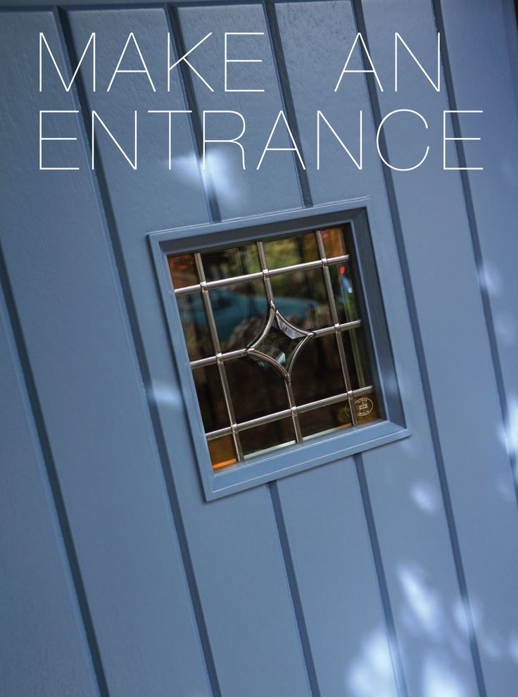 Make an entrance with your front door!