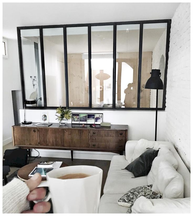 mirrors in the panes for the dining room