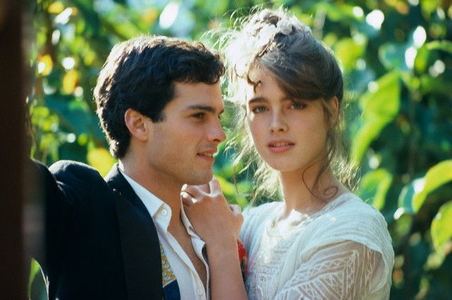 """Brooke Shields and Martin Hewitt in """"Endless Love,"""" 1981."""