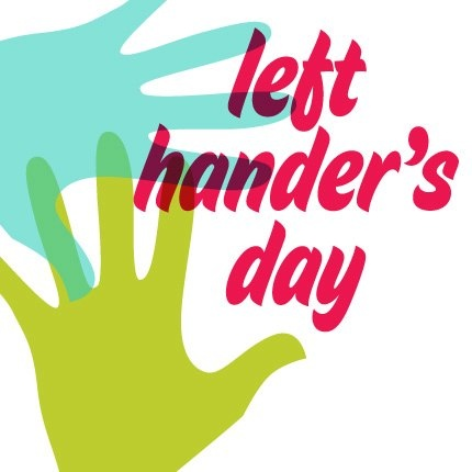 8/13: National Left Hander's Day. Have you hugged a southpaw today?