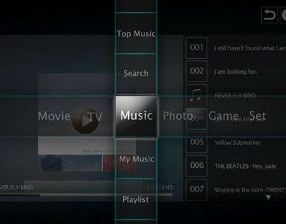 """다음 @Behance 프로젝트 확인: """"iPlay UI for TV"""" https://www.behance.net/gallery/10647491/iPlay-UI-for-TV"""