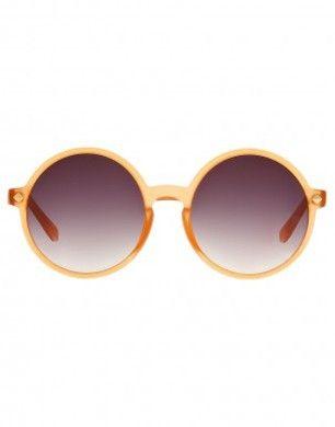 Matthew Williamson Sunglasses Matte Peach Round Sunglasses