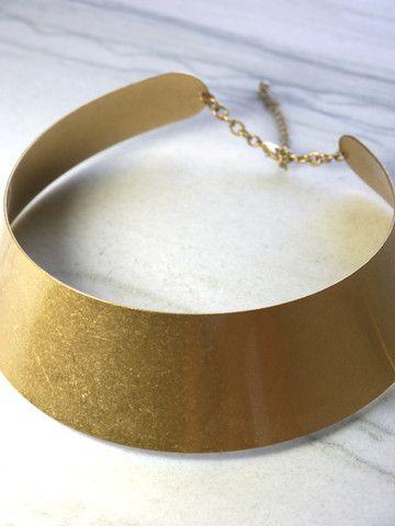 Chunky Gold Choker