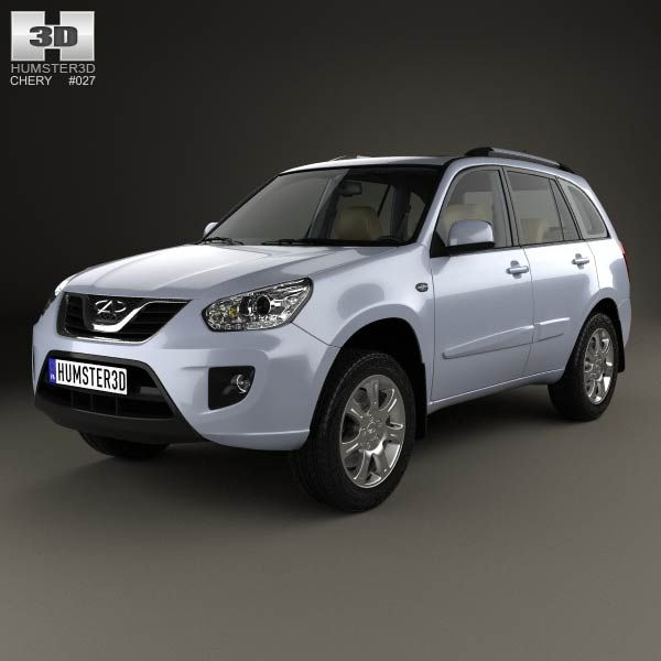 Chery Tiggo (T11) with HQ interior 2010 3d model from humster3d.com. Price: $125