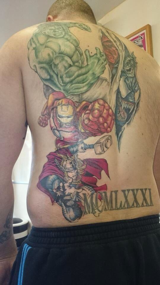 17 Best images about Marvel tattoos on Pinterest