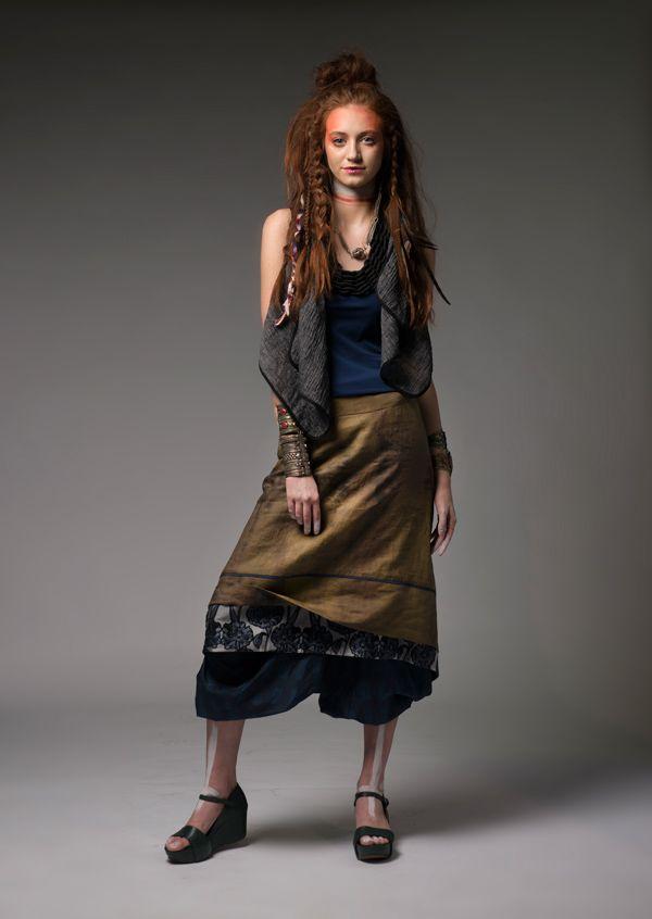 Dov Sky Vest, Crimson Skirt and Ongop Pants #dogstar #dogstarclothing #laika #brisbanedesigner #fashion