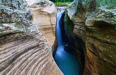 PERGIPEDIA  - Air Terjun Luweng Sampang, Grand Canyon Di Perbatasan Yogyakarta . Ingin melihat re...