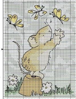 Margaret Sherry Mouse and Butterflies *shares Margaret Sherry KEY CHART