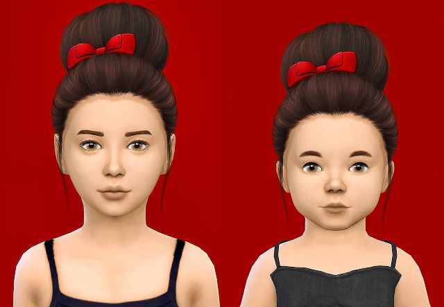 Sims 4 CC's - The Best: Nightcrawler Sasha - Kids & Toddlers by Fabienne