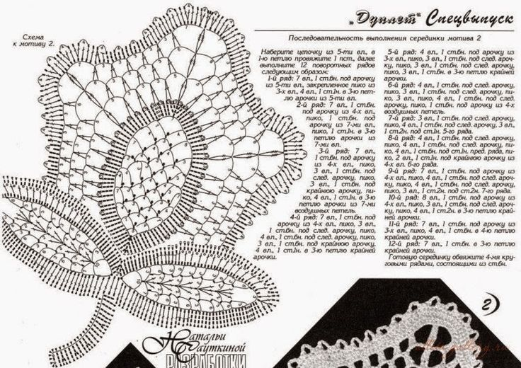 Crochet: Irish lace 2
