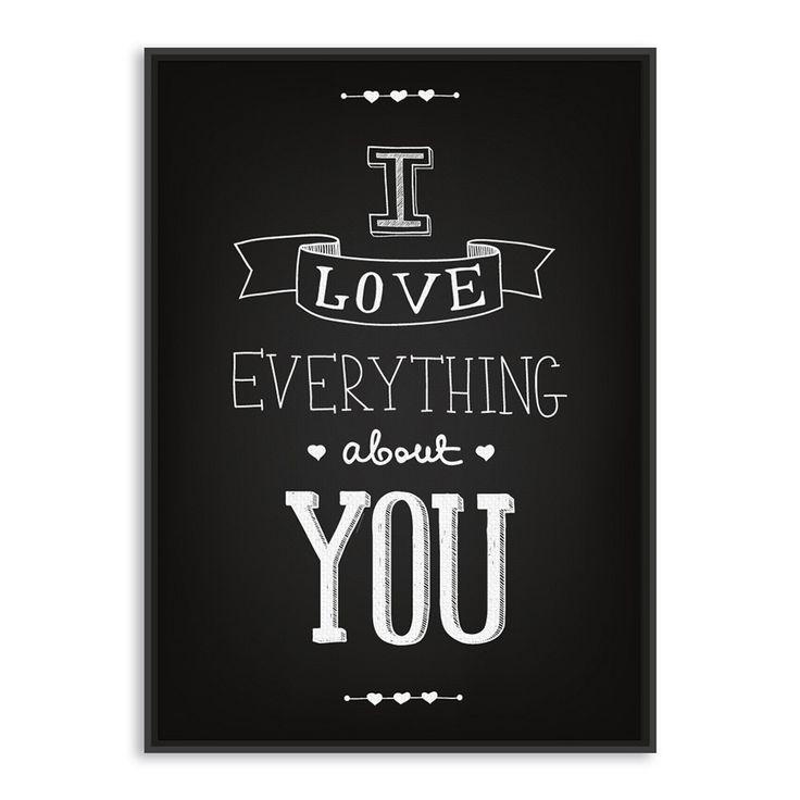 Negro blanco moderno inspirada Love Quotes tipografía grande A4 impresiones del cartel inconformista dibujo pintura de la lona decoración pared arte regalo en Pintura y Caligrafía de Casa y Jardín en AliExpress.com | Alibaba Group