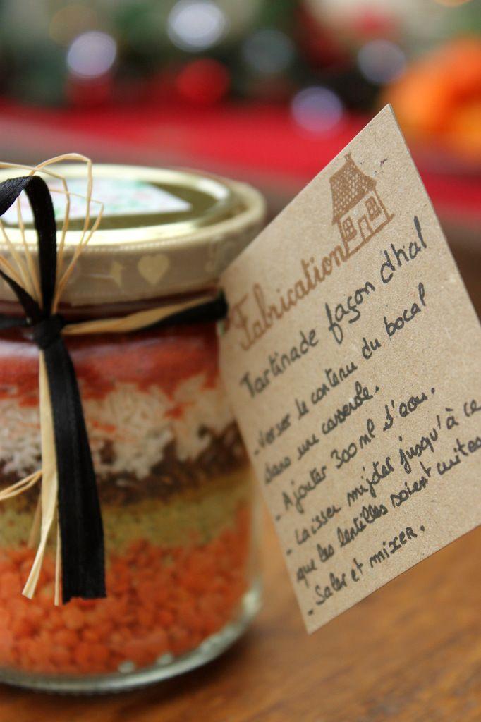 Cadeau gourmand : kit pour tartinade façon dhal - vegan