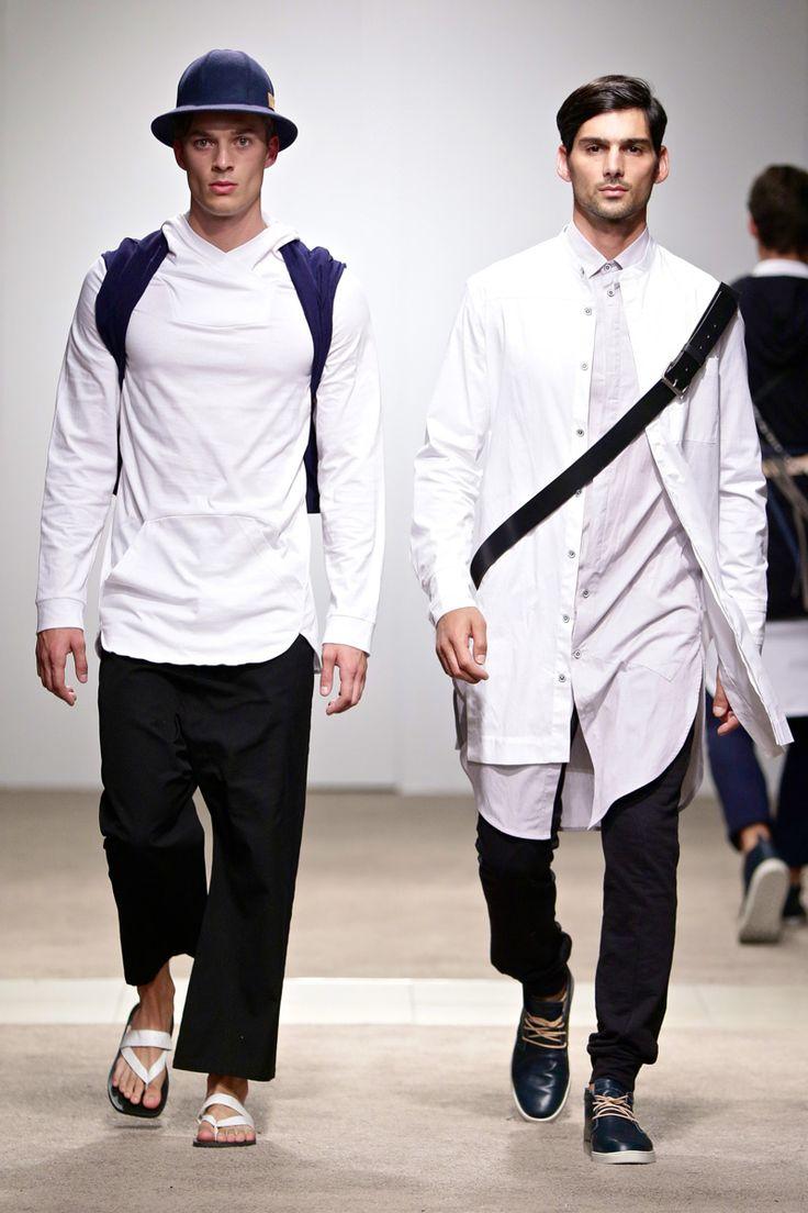 ALC Menswear AW17: Look 5 -- Photo: Simon Deiner at South African Menswear Week