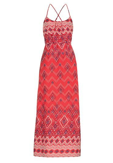 maxi dress in ethnic print - maurices.com