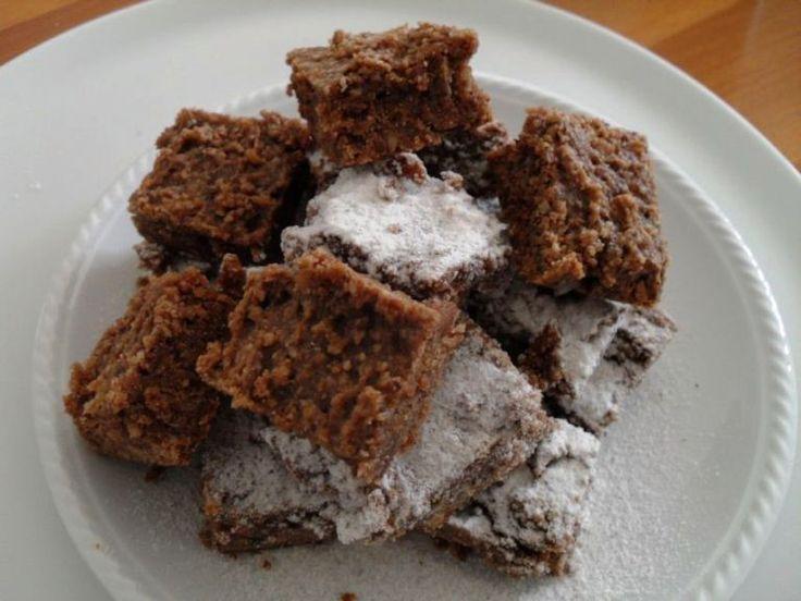 I brownies di castagne
