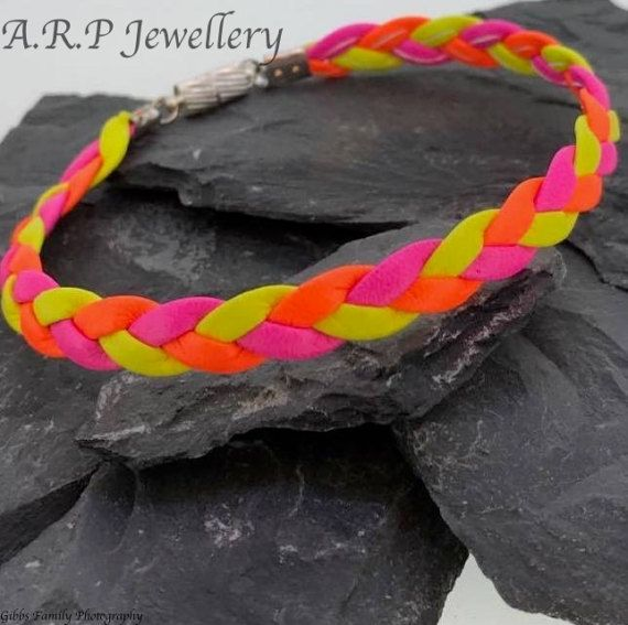 http://etsy.me/2lUAdbu #leather #bracelet #leatherbracelets #bracelets #surfer #festival #bright #vibrant #colourful #colour #yellow #orange #pink #Fluorescent #festivals #etsy #etsysellers #etsyjewellery #jewellery #handmade #magneticclasp #handmadehour #handmadejewellery #instagram #facebook #twitter #pinterest #modern #contemporary #party #stylish #partywear #bold #comfortable #soft #softleather #plaited #…