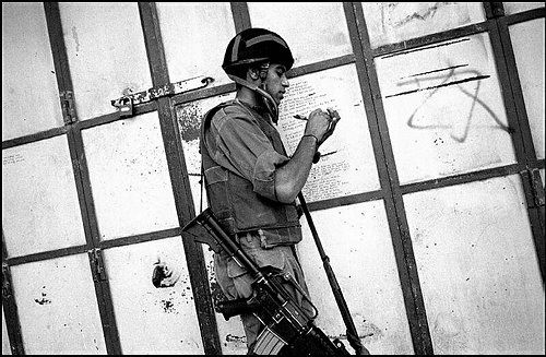 palestine/Israel by Eddie van Wessel