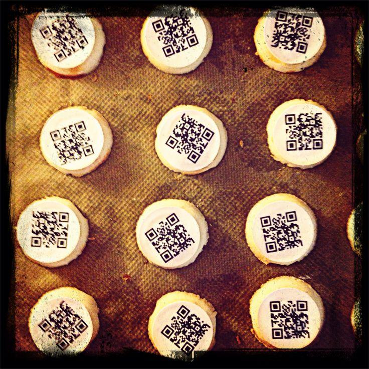 Offenheit, Mut, Begeisterung - ein wohlklingender Dreiklang für die tägliche Arbeit. Kekse gibts bei kumulus auch. Mal mit QR-Code und mal als... Das wird später verraten ;)