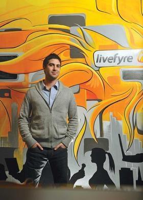 Livefyre CEO in BizJournals http://www.livefyre.com/profile/11978735/