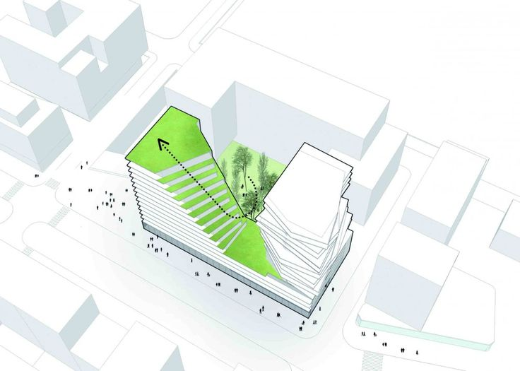 The Masséna Competition Entry / Harmonic + Masson Architects and Comte Vollenweider Architects