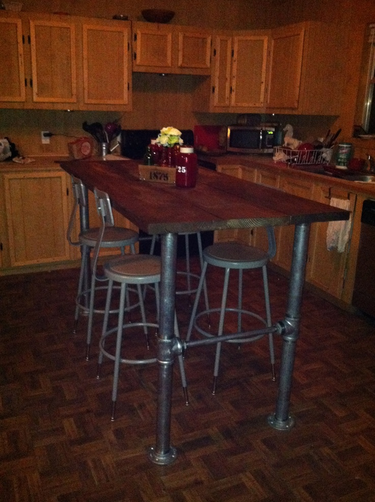 Diy Bar Height Dining Table - WoodWorking Projects & Plans