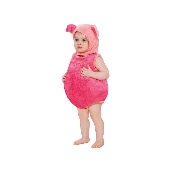 Knorretje kostuum voor peuters. Roze Knorretje kostuum van de bekende serie Winnie de Poeh. Zacht pluche kostuum van 100% polyester. Aan de achterzijde van dit kostuum zit een handige opening. Dit kostuum is inclusief muts. Machine wasbaar op 30 graden.