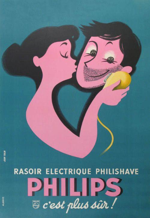 Ilustración en la concepción de Jean Colin, a favor de Philips (1955).