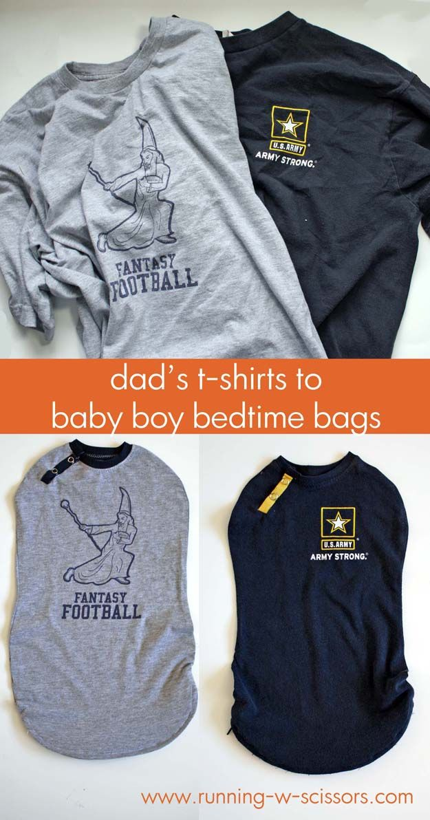 Running With Scissors: Baby Bedtime Bags for BOYS!