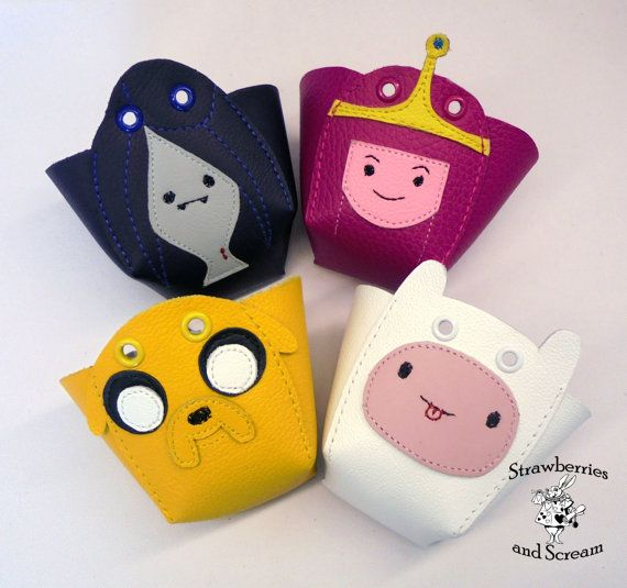 Handmade in the United Kingdom! Those are made by order and take at least 4 working days to get ready. ***VEGAN OPTION AVAILABLE***  Here is a pair of snouts with Adventure Time Characters, you can either choose a matching pair or one of each. More designs can be made upon request.  These are toe guards to protect the front of quad skates from scratching. They fit 99% of the Roller Derby Skates, like: Bonts, Riedell, Antiks, Vanilla and Sure Grip, but if you have any doubt just message me…