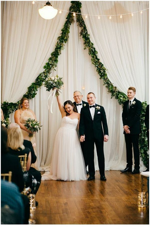 Trending 20 Gorgeous Wedding Ceremony Ideas With Draped Fabric For 2019 Oh Best Day Ever Wedding Ceremony Backdrop Wedding Reception Entrance Reception Entrance Songs