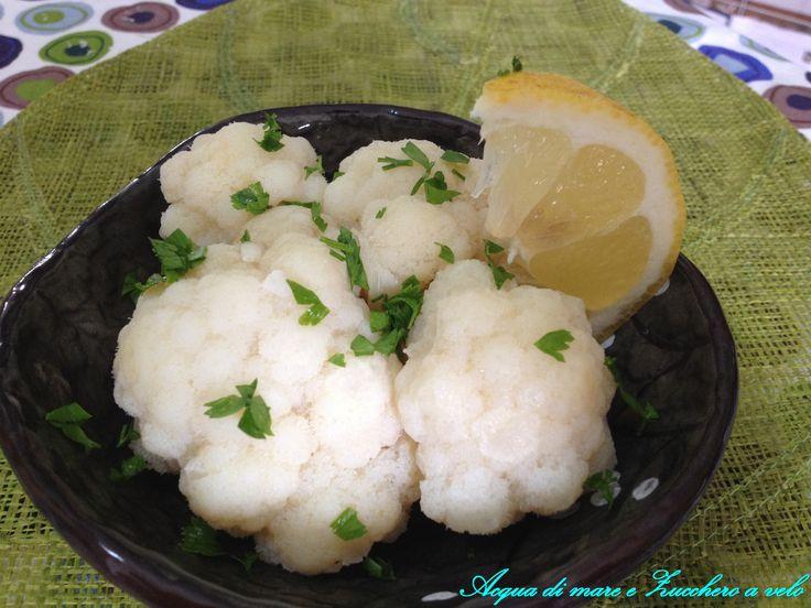 Ciuffi di Cavolfiore al limone