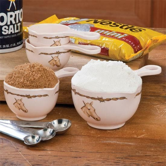 Horse Measuring Cups Set Of 4
