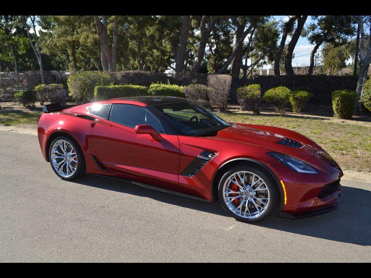 corvette zo6 2015   2015 Chevrolet Corvette ZO6 Coupe Crystal Red Metallic