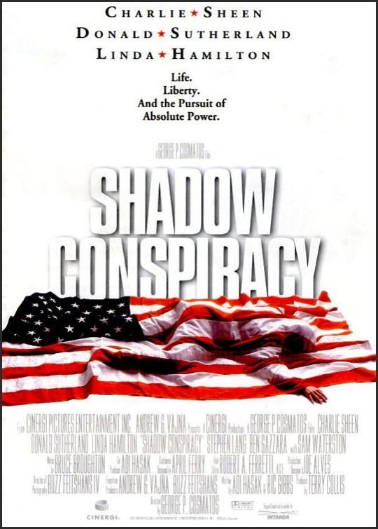 Shadow Conspiracy Movie Poster (1997)