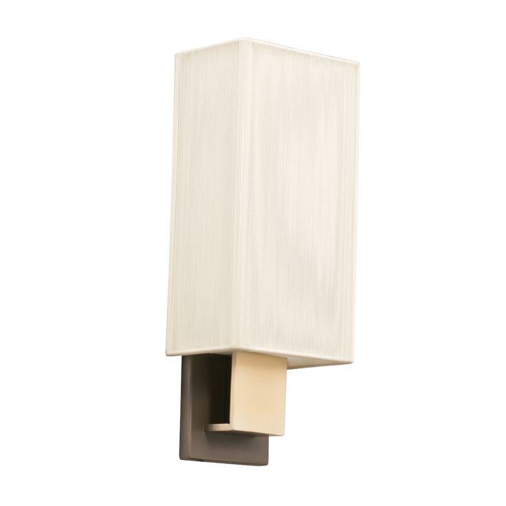 Wall Sconce 1lt Fluorescent Cpbg Kichler Lighting