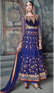 #Blue Color #Georgette Anarkali Salwar #Stitched Suits with #Dupatatta   FH442869832 #anarkali , #salwar , #kameez , #dresses , #suits , #designer , #colors , #pinterest , #Shopping , #fashion , #boutique , #online , #heenastyle , #indian , #style , @heenastyle , #churidar , #likes , #abaya , #pakistani, #clothing , #womens , #mens , #kids , #boys , #girls