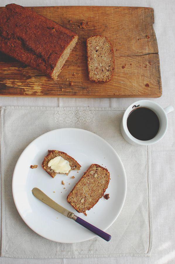chlebek bananowy z mąką gryczaną