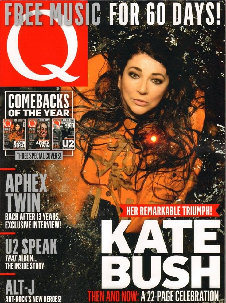 Q magazine cover q2014nov